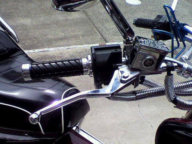 フュージョン用(MF02):メッキ ブレーキ マスター シリンダー