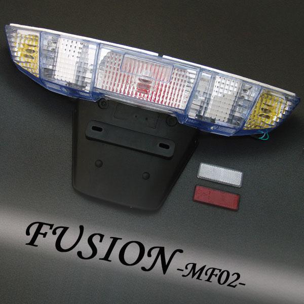 フュージョン用(MF02):クリスタル ユーロテールユニット