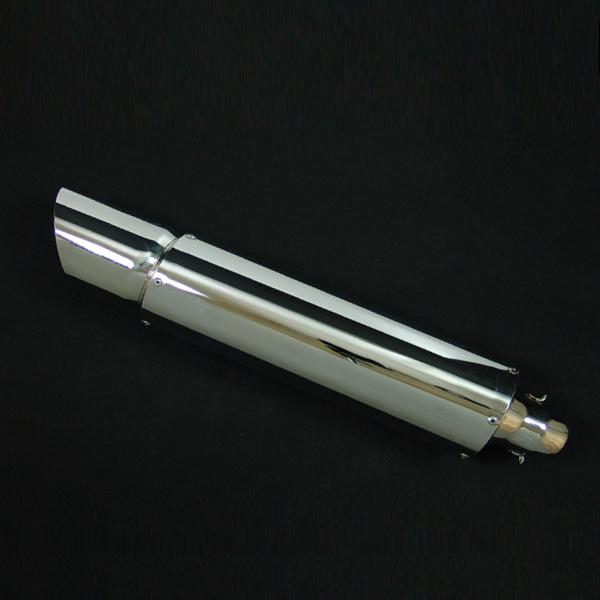 フュージョン用(MF02):S1極太ステンレス マフラー(フルエキゾースト)