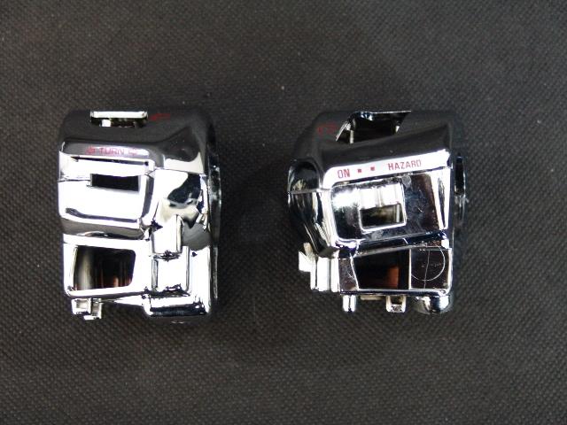フォルツァ250用(MF06):メッキスイッチボックス