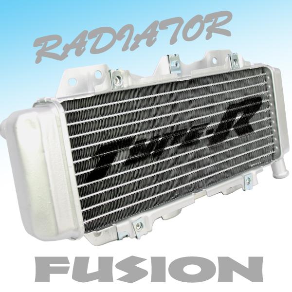 フュージョン用(MF02):ラジエター (純正タイプ) シルバー