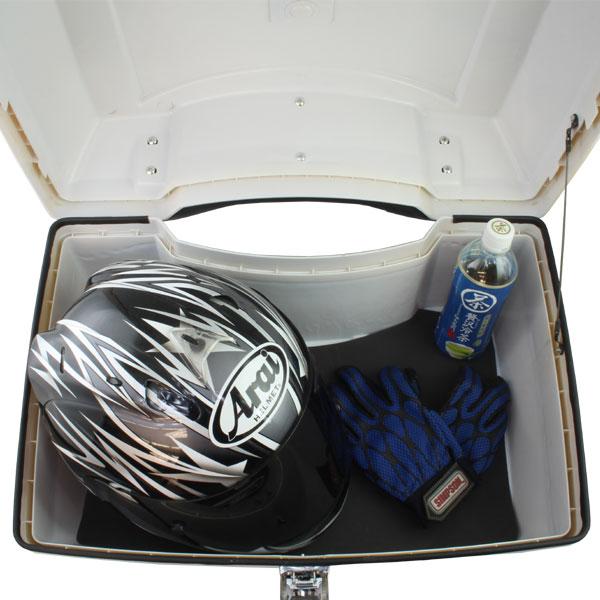 大容量 フュージョン用(MF02):リアボックス ホワイト塗装済み