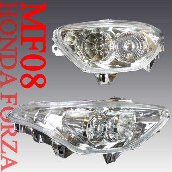 フォルツァX/Z用(MF08):LEDクリアユーロテールランプユニット