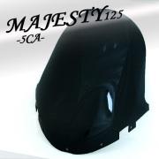 マジェスティー125用(5CA):セミショートスモークスクリーン
