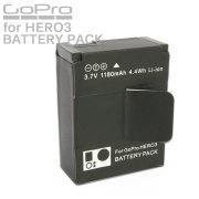 GoPro HERO3 HERO3+ カメラ用 大容量 リチウムイオン バッテリーパック 1個 互換 AHDBT-201 AHDBT-301/302 充電池