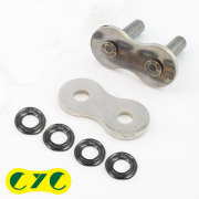 CYC バイクチェーン:530 EVXシリーズ専用 補修/リペアキット シルバー チェーン用
