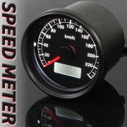 60mmスピードメーター/ブラックパネル