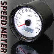 60mmスピードメーター/ホワイトパネル