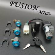 フュージョン用(MF02):キーセット(純正タイプ)