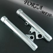 フォルツァX/Z 用(MF10):メッキフロントフォークカバー