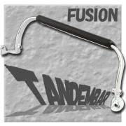 フュージョン MF02 メッキ タンデムバー