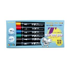 Tマーカーペン(スタンダードカラー6色セット)