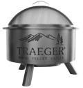 Outdoor Fire Pit アウトドアファイヤーピット TRAEGER製【ペレット燃料10kgサービス】【送料サービス】