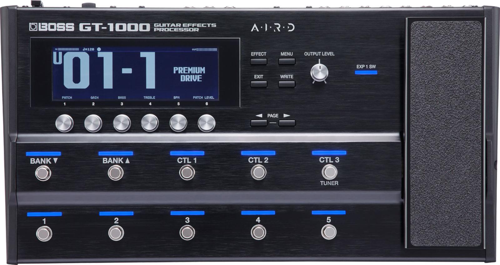 BOSS ボス GT-1000 Guitar Effects Processor マルチエフェクター/ギター用