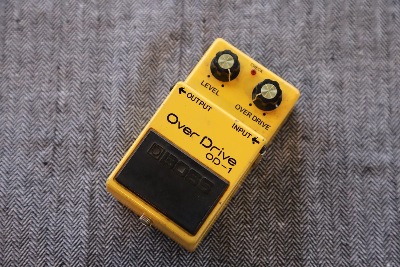 【中古商品】BOSS OD-1 [銀ネジ] #9900 オーバードライブ [オペアンプ/JRC4558D] 【即納可能】
