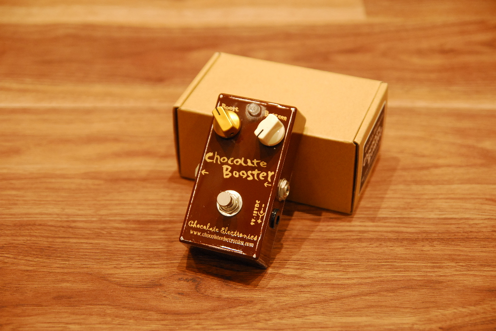 【送料無料】【大特価!】Chocolate Electronics チョコレートエレクトロニクス Chocolate Booster [3331] (裏フタ塗装あり) ブースター【返品・交換不可】