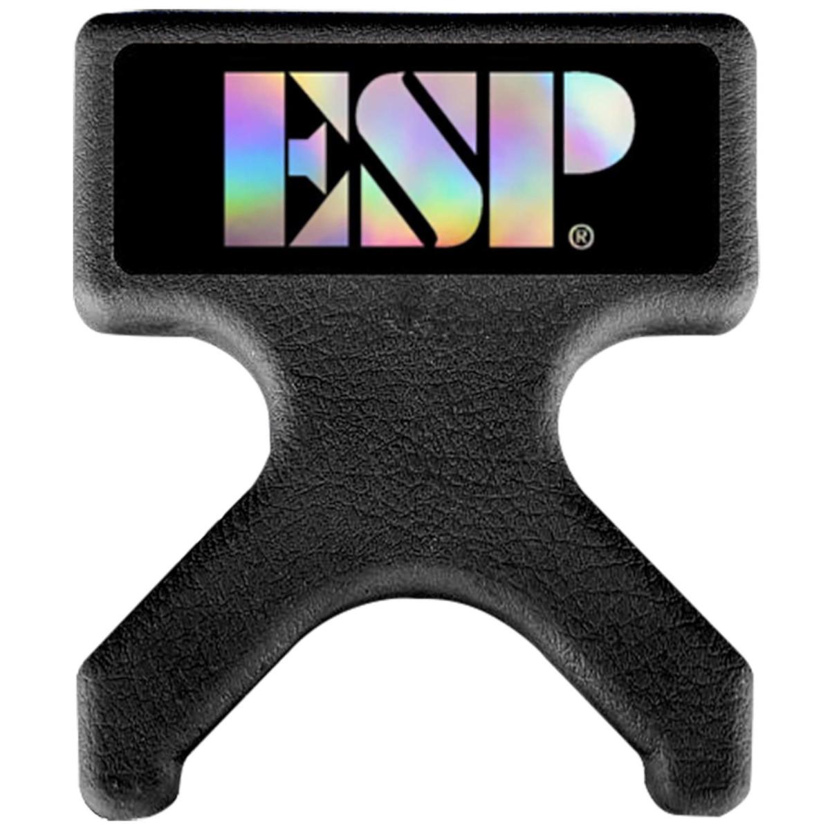 【ネコポスで送料無料♪】ESP AXE HANDLER BLK PORTABLE GUITAR STAND ポータブル ギタースタンド 【即納可能】