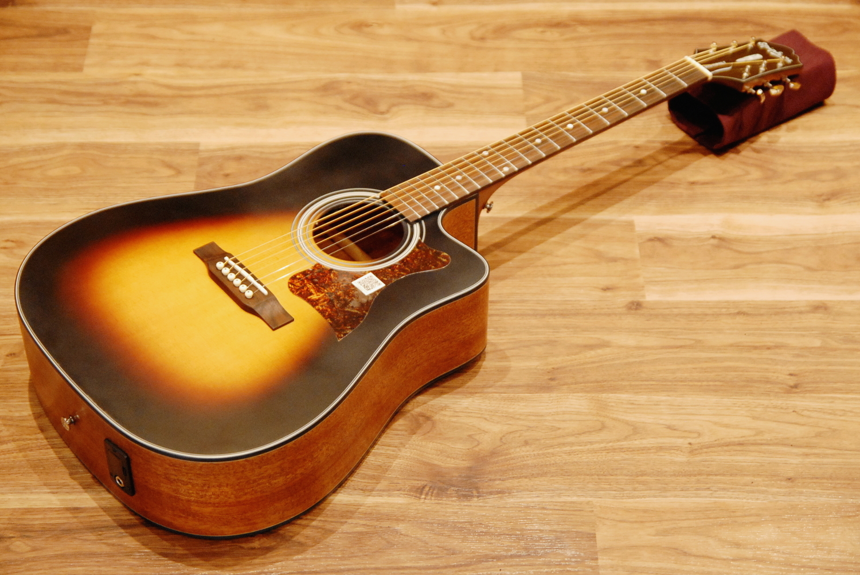【送料無料】Epiphone KC-Exclusive Masterbilt DR-400MCE VS(Vintage Sunburst) エピフォン アコースティックギター【即納可能♪】