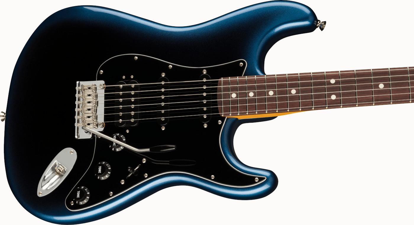 【送料無料】Fender American Professional II Stratocaste HSS RW Dark Night [フェンダー アメリカン プロフェッショナル II]  「発送に1週間前後かかります」