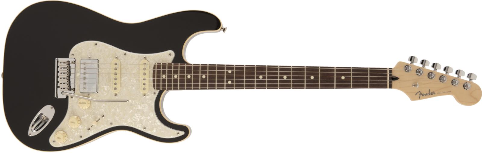 【送料無料】Fender MADE IN JAPAN MODERN STRATOCASTER® HSS BLACK 2019年7月発表 最新シリーズ フェンダー モダンシリーズ  <br>【即納できます!!】