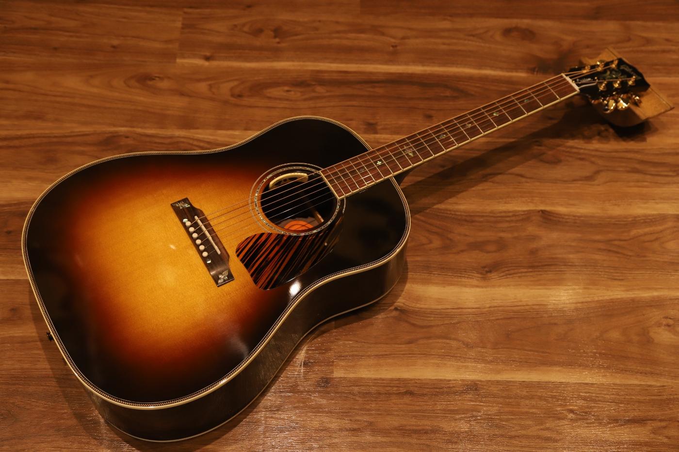 【送料無料】Gibson J-45 Custom Special Flower Inlay w/Anthem ギブソン フラワーインレイ スペシャルモデル【即納可能♪】