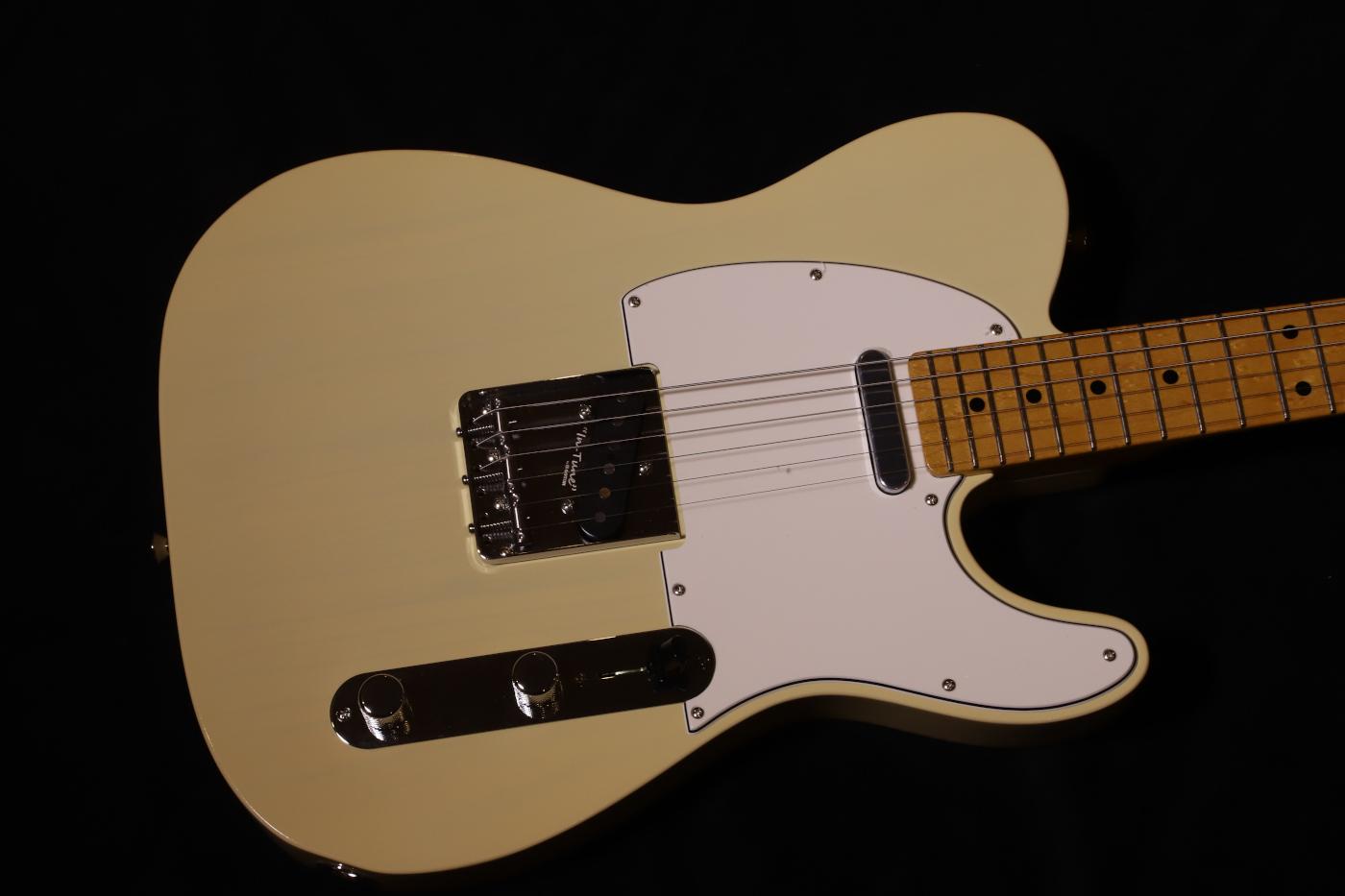【送料無料】K.NYUI CUSTOM GUITAR KNTE ASH BLOND Birdseye Maple FB /ケイ ニュイ カスタムギター/エレキギター