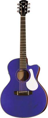 【送料無料】K.YAIRI BM-65CE UM  アコースティックギター/国産 エレアコ 映画「音タコ」吉岡里帆 使用モデル  初回生産分 Ultramarine 【即納可能♪】【ハードケース付属】