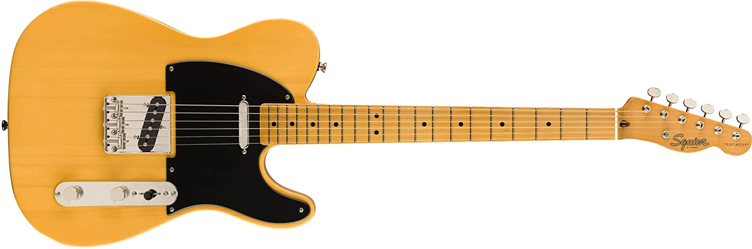 Squier by Fender《フェンダー》《スクワイヤー》 Classic Vibe '50s Telecaster Maple Fingerboard, Butterscotch Blonde