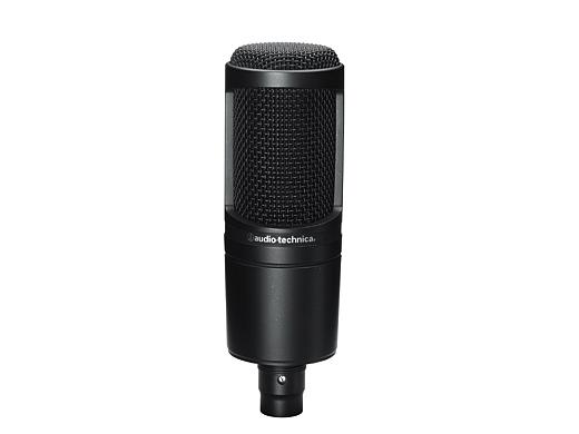audio-technica オーディオ・テクニカ AT2020 バックエレクトレット・コンデンサー型マイクロホン【ただいま即納できます♪】