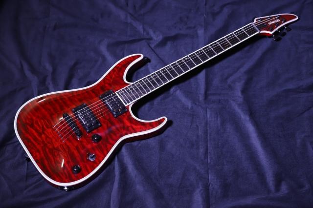 【アウトレット特価品】EDWARDS E-HR-145NT/QM  BKCH  エドワーズ  エレキギター【送料無料&即納可能♪】