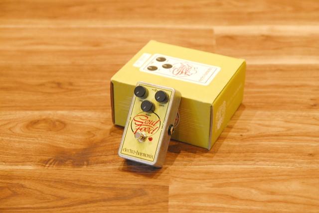 【送料無料】Electro-Harmonix エレクトロ・ハーモニクス Soul Food オーバードライブ 【正規品/ACアダプター付】