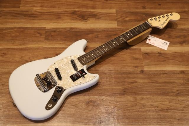 【送料無料】Fender AMERICAN PERFORMER MUSTANG® Satin Sonic Blue フェンダー アメパフォ ムスタング 【即納可能♪】