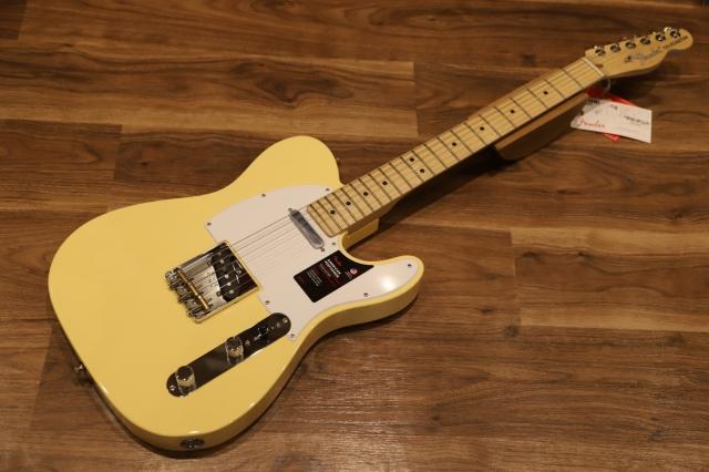 【送料無料】Fender AMERICAN PERFORMER TELECASTER® Vintage White フェンダー アメパフォ テレキャスター 【即納可能♪】
