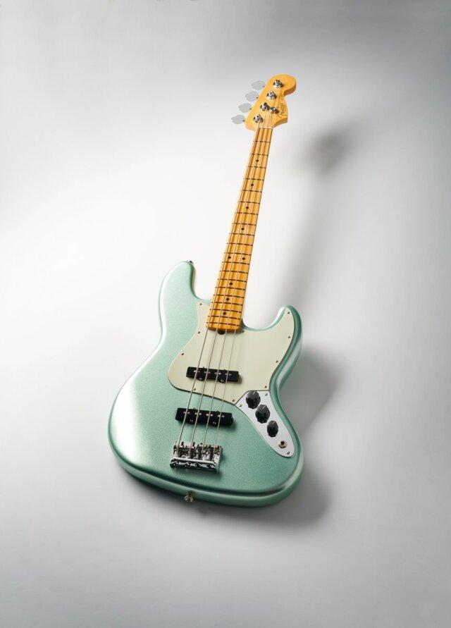 【送料無料】Fender American Professional II  Jazz Bass MN Mystic Surf Green [フェンダー アメリカン プロフェッショナル II]