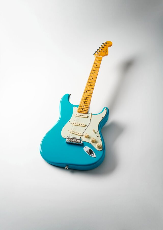 【送料無料】Fender American Professional II Stratocaste MN Miami Blue [フェンダー アメリカン プロフェッショナル II]