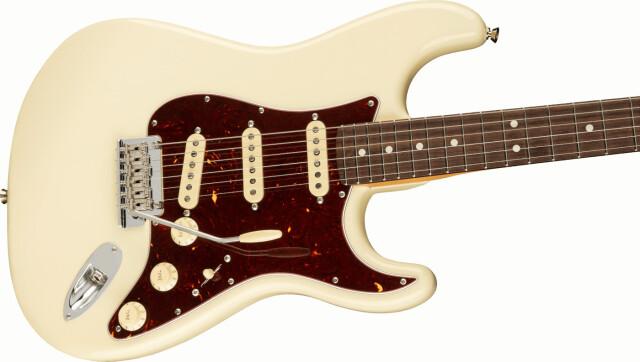 【送料無料】Fender American Professional II Stratocaste RW Olympic White [フェンダー アメリカン プロフェッショナル II] 「発送に1週間前後かかります」