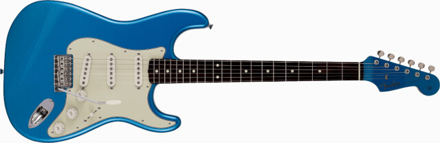 FENDER 《フェンダー》 2021 Collection, MIJ Traditional 《トラディショナル》60s Stratocaster®, Roasted Maple Neck, Rosewood Fingerboard, Lake Placid Blue