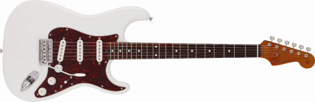 FENDER 《フェンダー》 2021 Collection, MIJ Traditional 《トラディショナル》60s Stratocaster®, Roasted Maple Neck, Rosewood Fingerboard, Olympic White