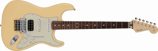 FENDER 《フェンダー》  Made in Japan Limited Stratocaster® with Floyd Rose®,Rosewood Fingerboard, Vintage White