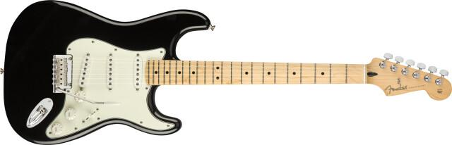 Fender《フェンダー》 PLAYER《プレイヤー》 STRATOCASTER® Maple Fingerboard, Black【即納可能♪】