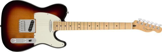 Fender《フェンダー》 PLAYER《プレイヤー》TELECASTER® Maple Fingerboard, 3-Color Sunburst【即納可能♪】