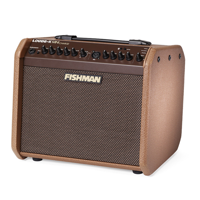 【送料無料】Fishman フィッシュマン Loudbox Mini Charge Amplifier(PRO-LBC-500)【正規品】 アコースティックアンプ 【持ち運び可能】【店頭入替えのため特価♪】