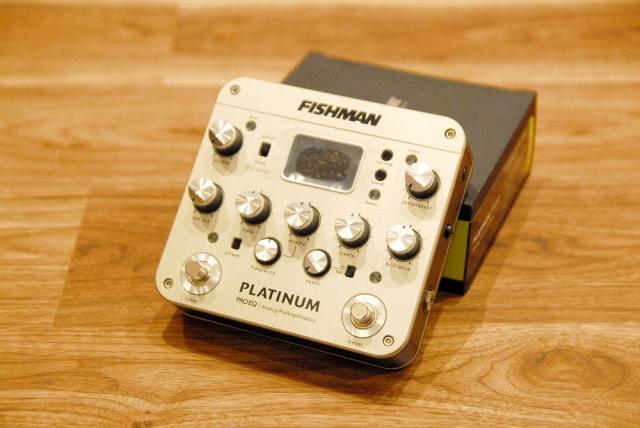【送料無料】FISHMAN フィッシュマン Platinum Pro EQ/DI Analog Preamp (PRO-PLT-201) アコギ用プリアンプ