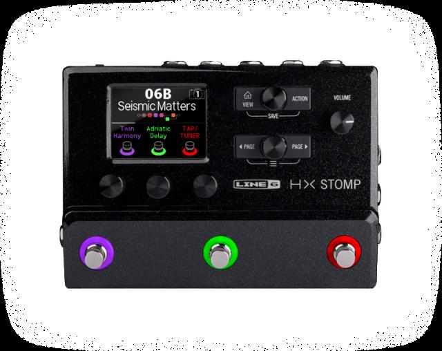 【送料無料】LINE6 HX STOMP 超コンパクト ギタープロセッサー【ご予約受付中♪】