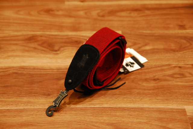 【送料無料】Levy's レヴィース [MT8-RED] TWEED GUITAR STRAP ツイードギターストラップ/カナダ製