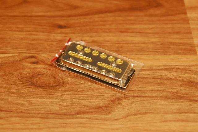 【送料無料&即納可能♪】Lollar Pickups ローラー・ピックアップ Gold Foil Standard Mount Nickel (Bridge) ゴールド・フォイル/スタンダードマウント/ブリッジ/ニッケル