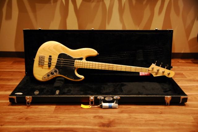 """【セール特価】【送料無料】【代引不可】LsL Instruments エル・エス・エル Valencia 70's Jazz Bass Natural  """"LUNA""""エレキベース/ナチュラル/バレンシア/レリック品/ジャズベタイプ"""