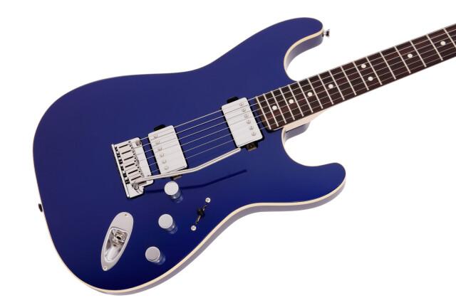 【送料無料】FENDER MIJ MODERN Stratocaster HH RW Deep Ocean Metallic ≪フェンダー モダーン ストラト≫        流線型を描き出す細身でクールなボディデザイン、ラウド/ヘヴィ・サウンド