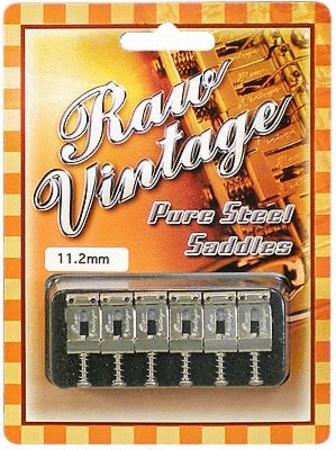 """RawVintage サドル """"Fender USA""""type RVS-112 11.2mm/0.441"""" 【ネコポス便(ポスト投函)でお届けします。】【代引不可です】"""