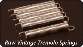 Raw Vintage ロウビンテージ RVTS-1 Tremolo Springs トレモロスプリング/5本セット【ネコポス便(ポスト投函)でお届けします。】【代引不可です】